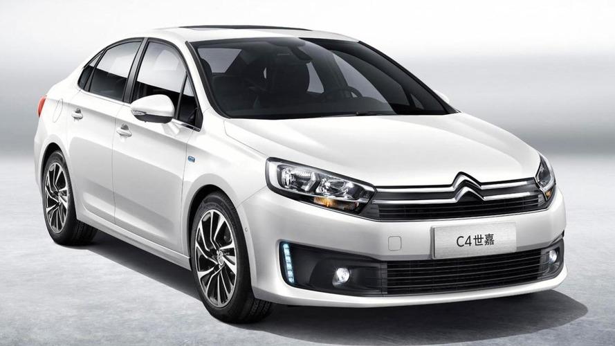 Citroen C4 Sedan for China previewed ahead of Chengdu Motor Show, replaces C-Quatre