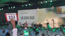"Emirati businessman pays $4.9M for ""1"" license plate"