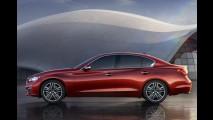Salão de Detroit: Infiniti apresenta novo sedã Q50 - Modelo virá ao Brasil em 2014