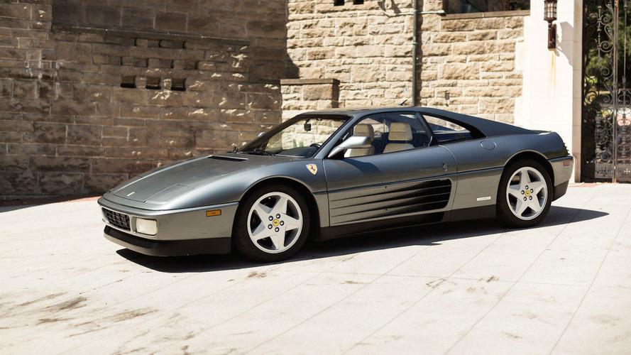Une superbe Ferrari 348 tb de 1990 en vente sur eBay