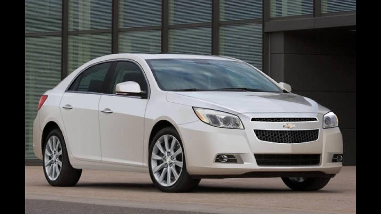 Nova geração do Chevrolet Malibu quase pronta para o lançamento