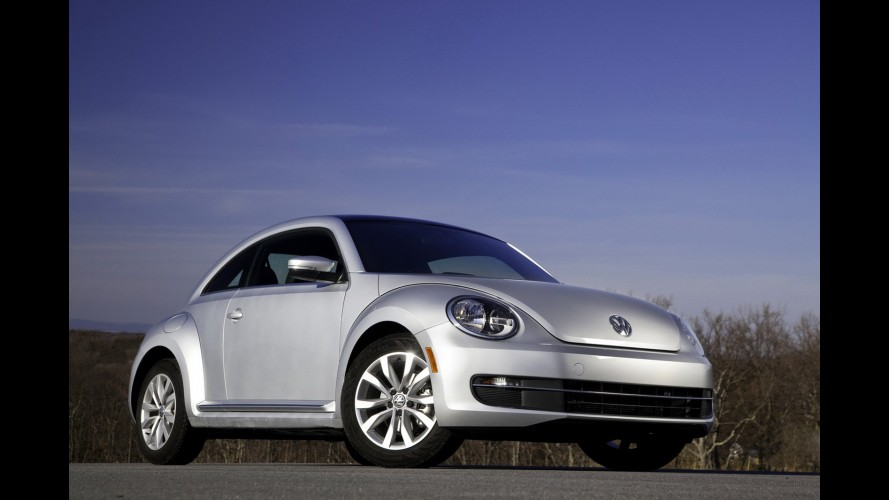 Volkswagen confirma Beetle em versão conversível para o final deste ano nos EUA