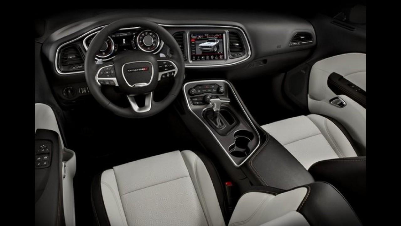 """Dodge Challenger 2015 muda visual e fica ainda mais """"malvado"""" - veja galeria"""