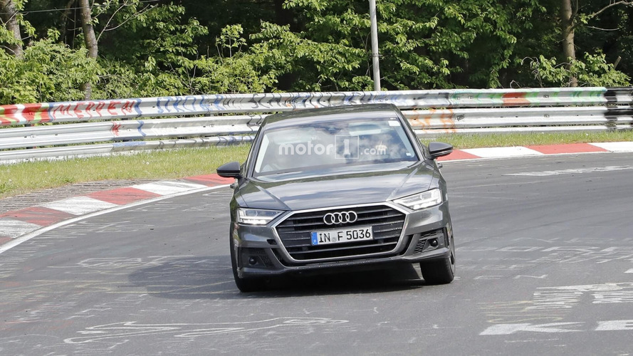 2019 Audi S8 Spotted Shaking Its Hips At The Nurburgring