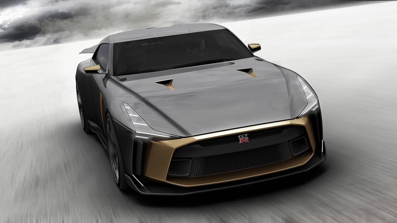 Nissan Skyline Gtr For Sale >> Nissan GTR-50 by Italdesign | Motor1.com Photos