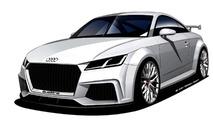 Audi TT Quattro Sport konsepti, 420 bg ile Cenevre'dekileri şaşırttı