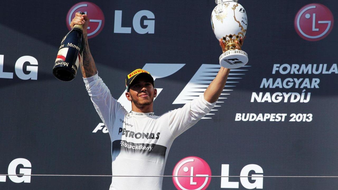 Lewis Hamilton 28.07.2013 Hungarian Grand Prix