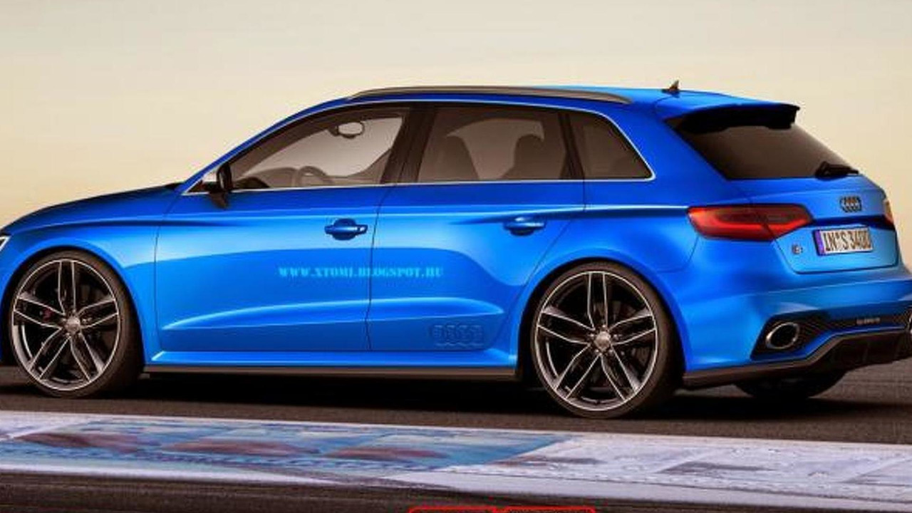 Audi RS3 Sportback render