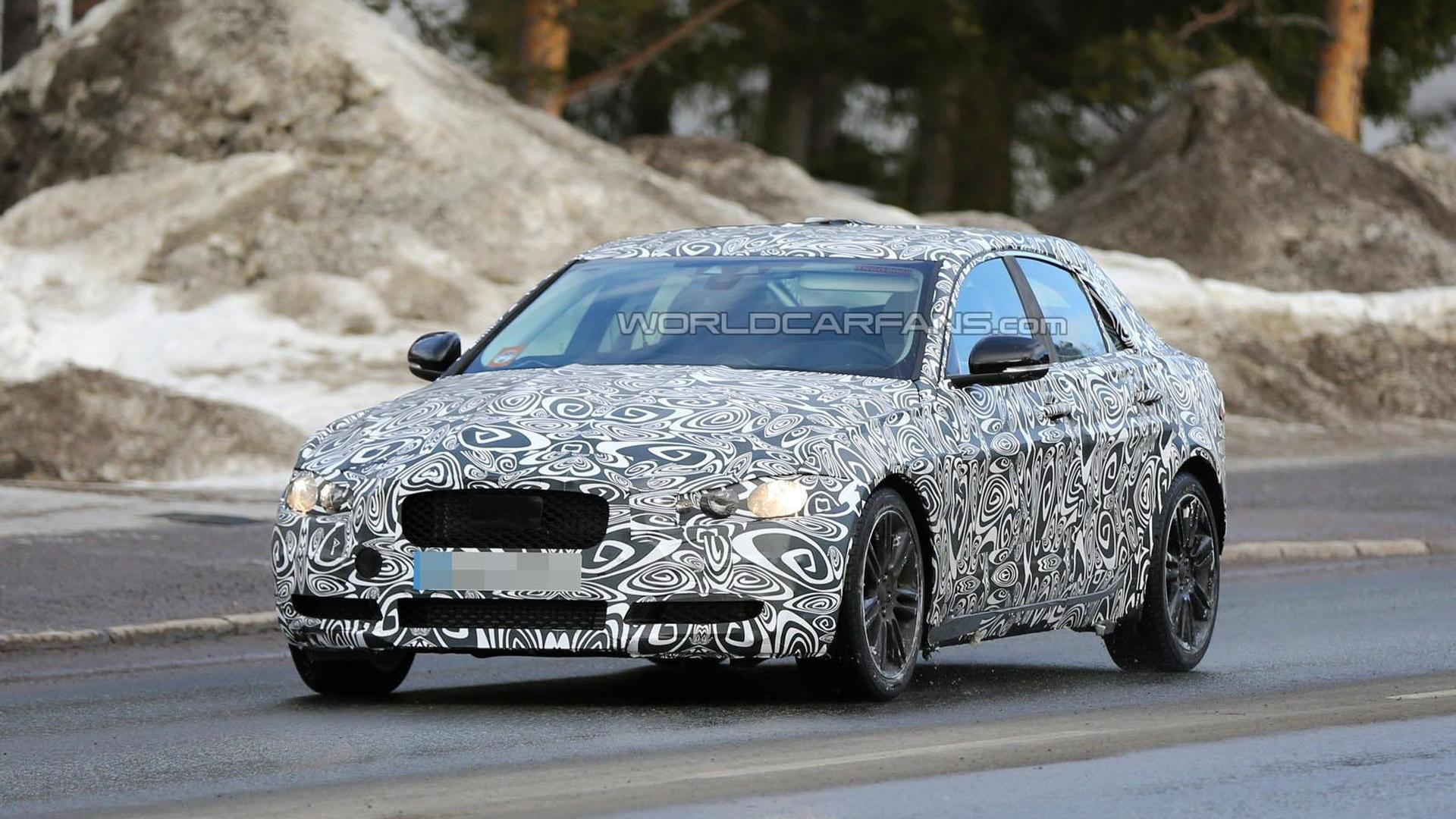 Jaguar XE Spied Will Be Introduced Later This Year - 2015 jaguar xe