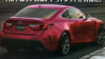 2014 / 2015 Lexus RC F purported photo 27.9.2013