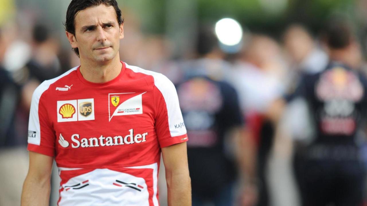 Pedro De La Rosa 21.09.2013 Singapore Grand Prix