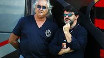 Flavio Briatore with Luis Garcia Abad 07.09.2013 Italian Grand Prix