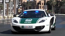 McLaren MP4-12C for the Dubai Police video screenshot