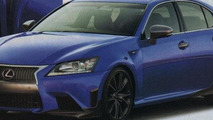2014 Lexus GS F spy photo 03.09.2013