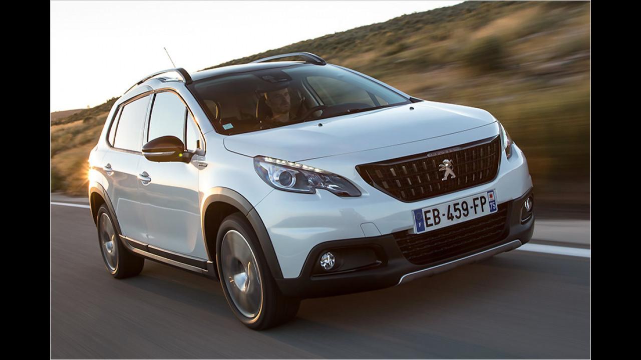 Auflösung: Der Peugeot 2008