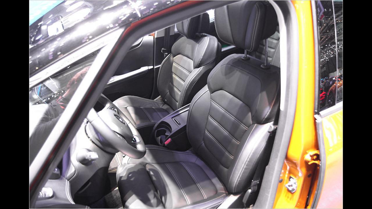 Top-Komfort: Die Frontsitze