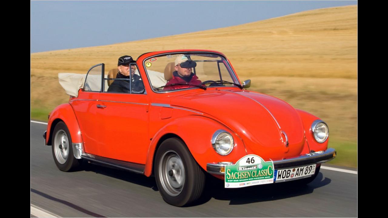 Platz 1: VW Käfer, 32.750 Fahrzeuge mit H-Kennzeichen