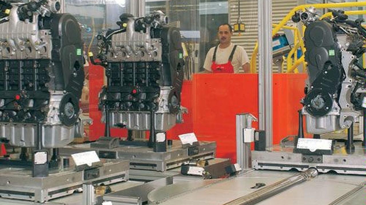 Cold testing Audi diesel engines