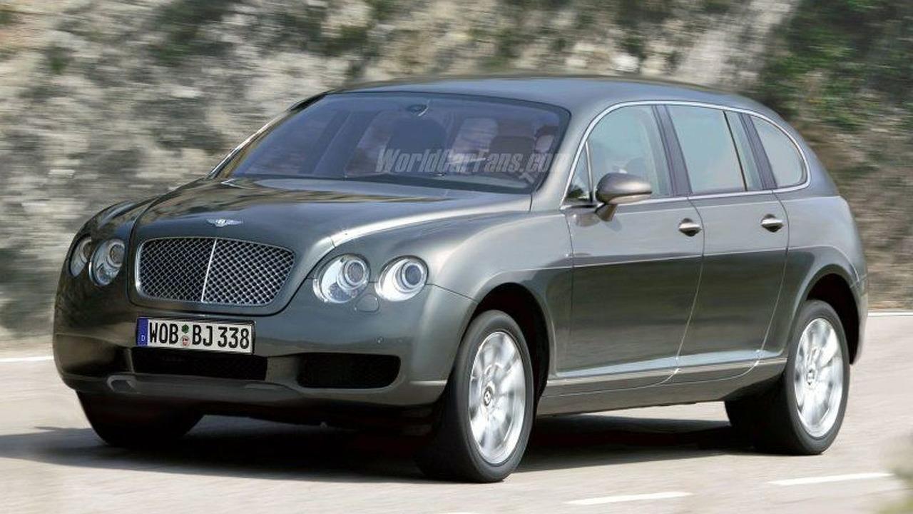 Bentley SUV - Artist Impression