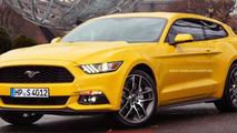 Ford Mustang GT Shooting Brake render