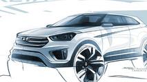 Hyundai Creta official exterior and interior sketches released