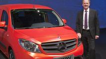 Mercedes-Benz Citan receives only three stars from Euro NCAP [videos]