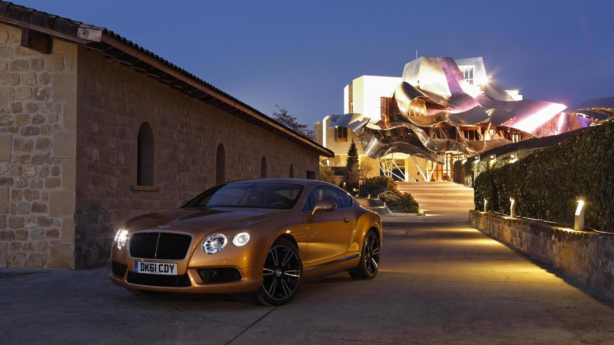 Bentley Continental GT and GTC V8 - new images released