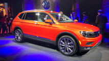 VW Tiguan Allspace 2018 - Salão de Detroit