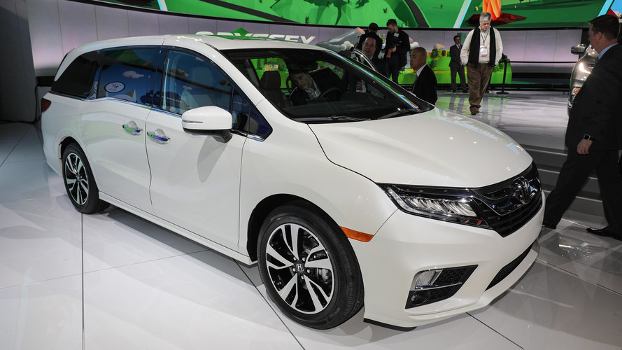 2018 Honda Odyssey is a tech-friendly family hauler