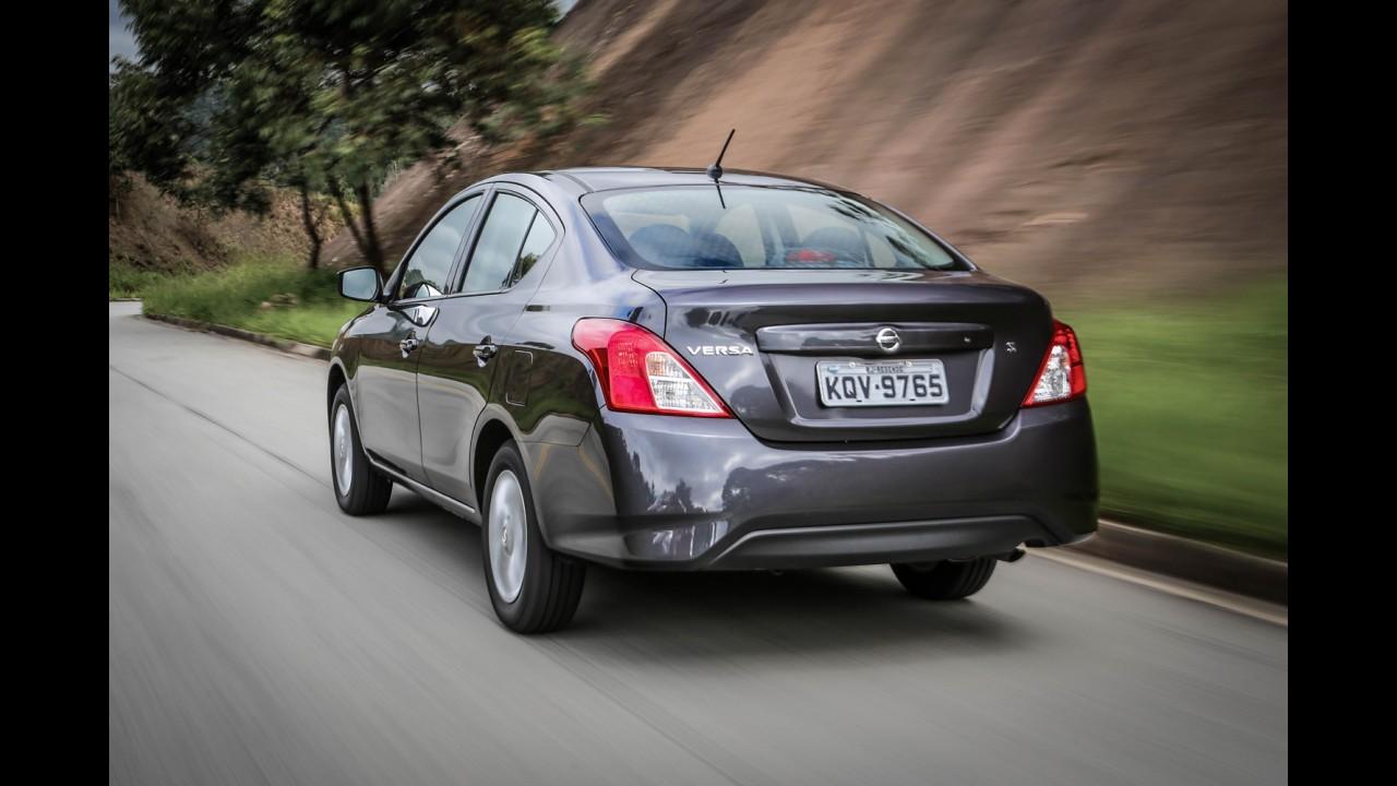 Nissan Versa já cresceu 25% em vendas desde o início da produção no Brasil
