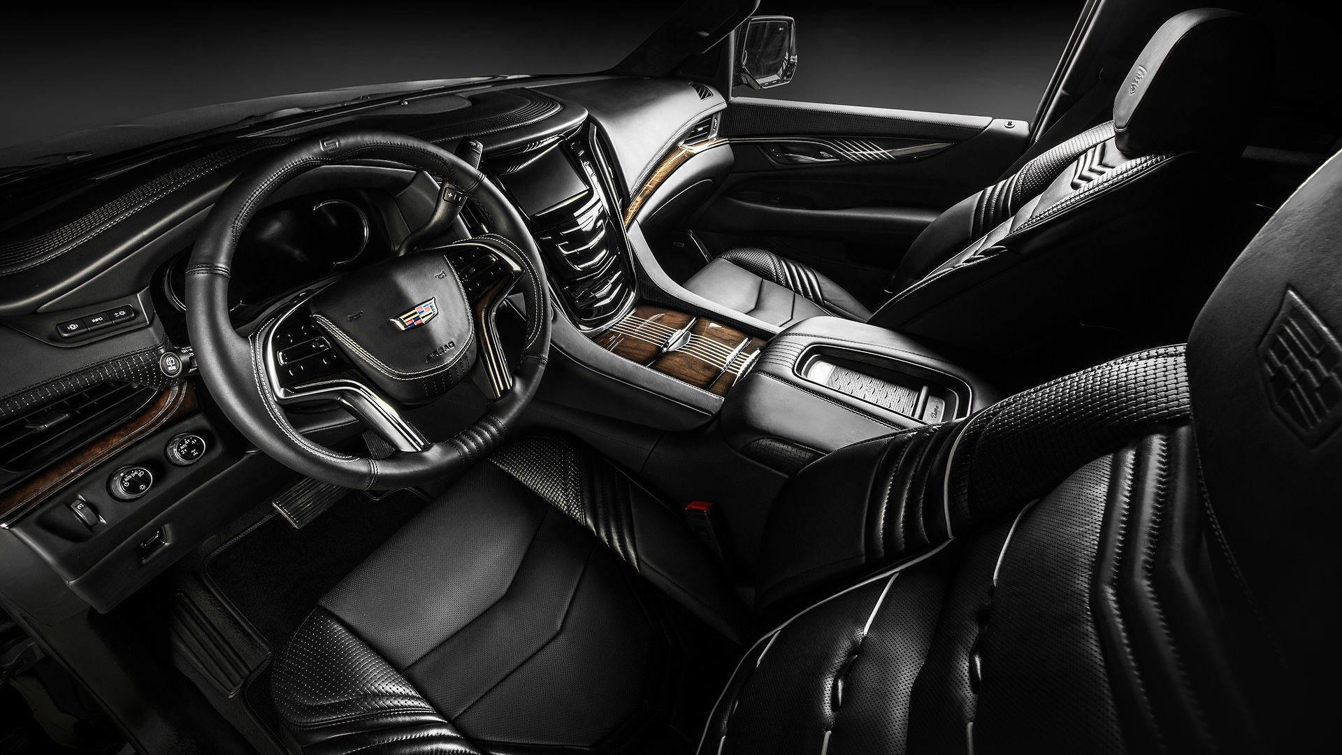 Cadillac escalade interior by carlex design takes luxury up a notch for Cadillac escalade custom interior