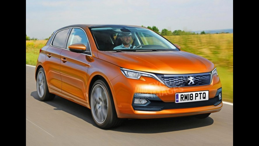 Peugeot 208 terá versão 100% elétrica na próxima geração
