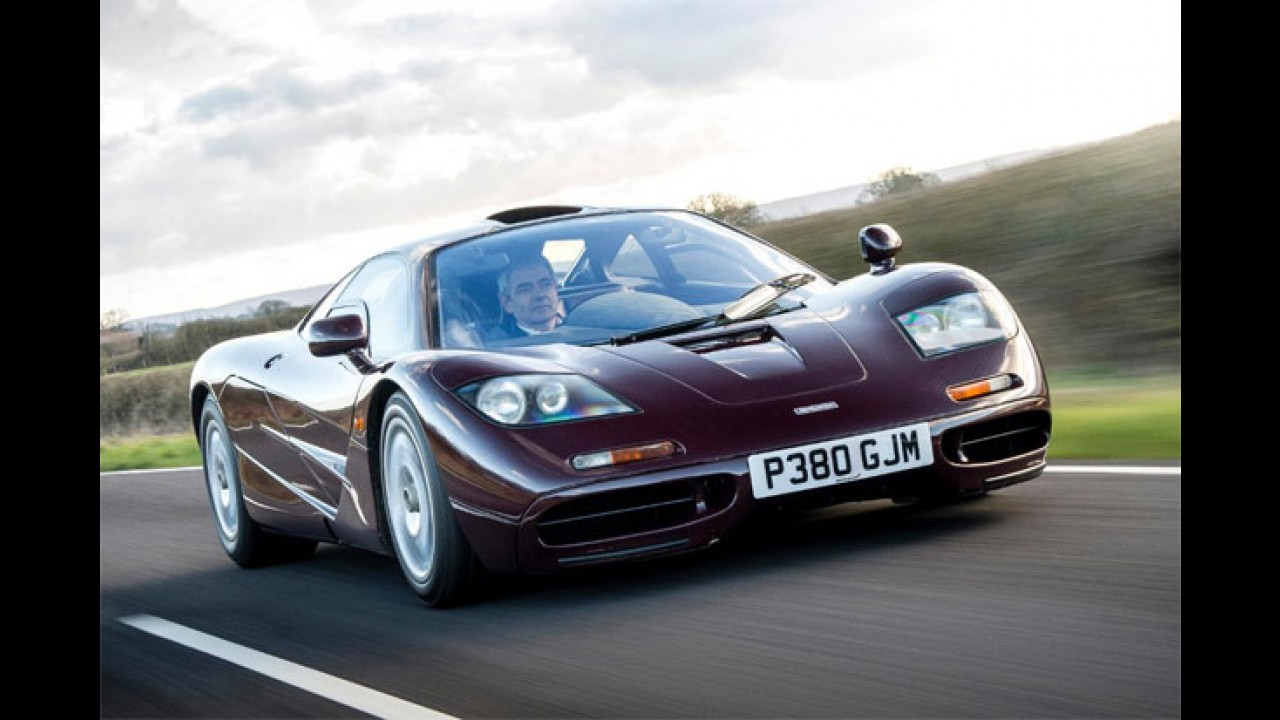 """Ecologicamente correto: Mr. Bean """"troca"""" McLaren F1 por BMW i3"""