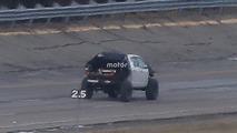 Chevy Colorado ZR2-based SUV mule spy photos