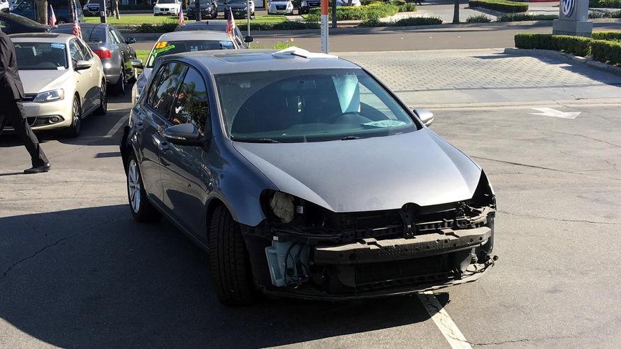 VW sökülmüş araçları geri almayacak