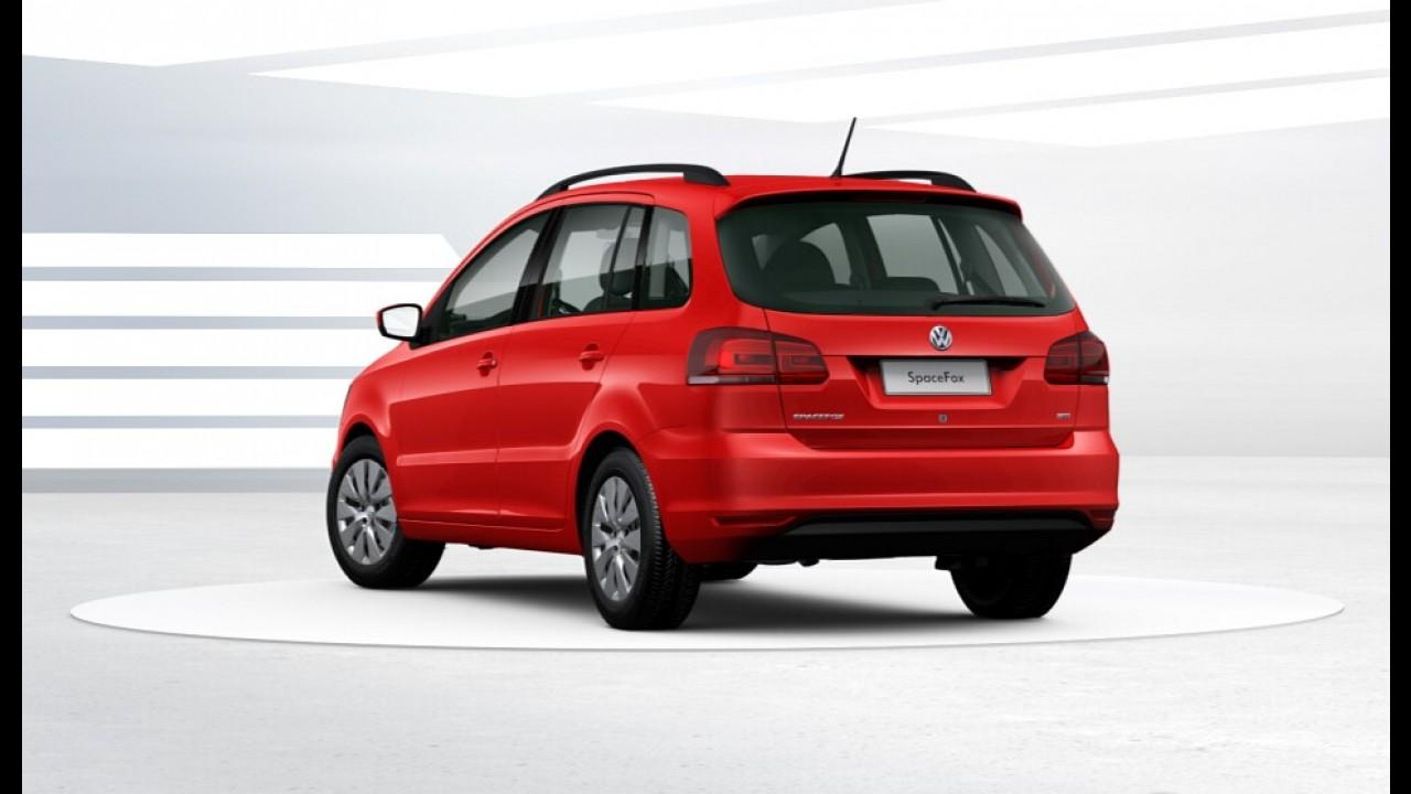 VW SpaceFox estreia versão de entrada Trendline por R$ 56,2 mil