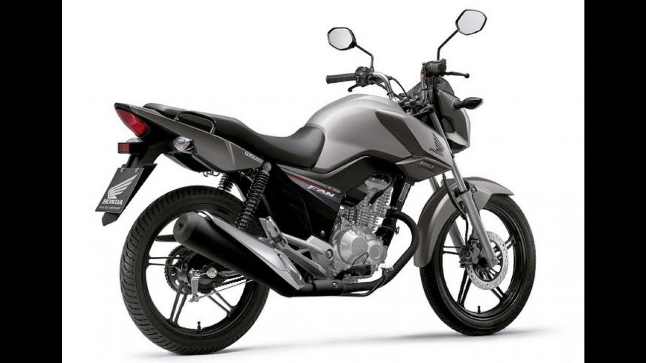 Honda CG 2016 agora é 160 cc - moto ganha novo visual e painel