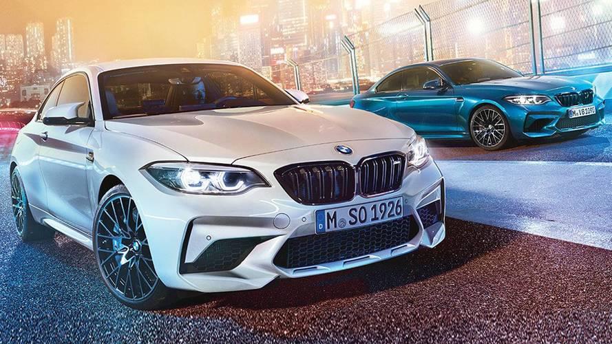 BMW M2 Competition, prime foto della Coupé da 410 CV