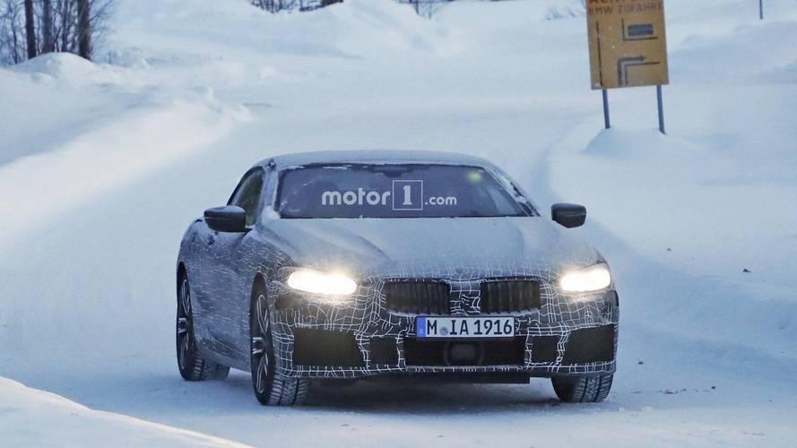 BMW Serie 8 Cabrio nuevas fotos espía