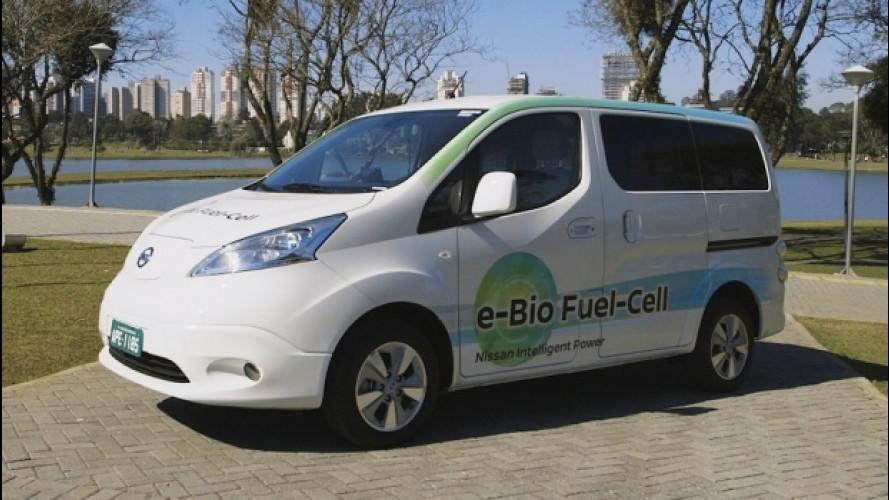 E' Nissan l'auto a zero emissioni che fa 600 km [VIDEO]