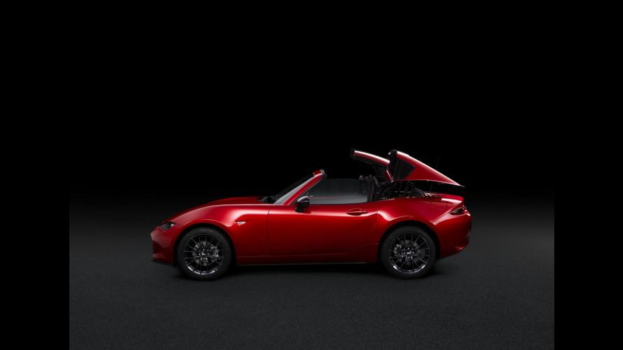 Mazda MX-5 RF Limited Edition, gli ordini sono aperti. Online