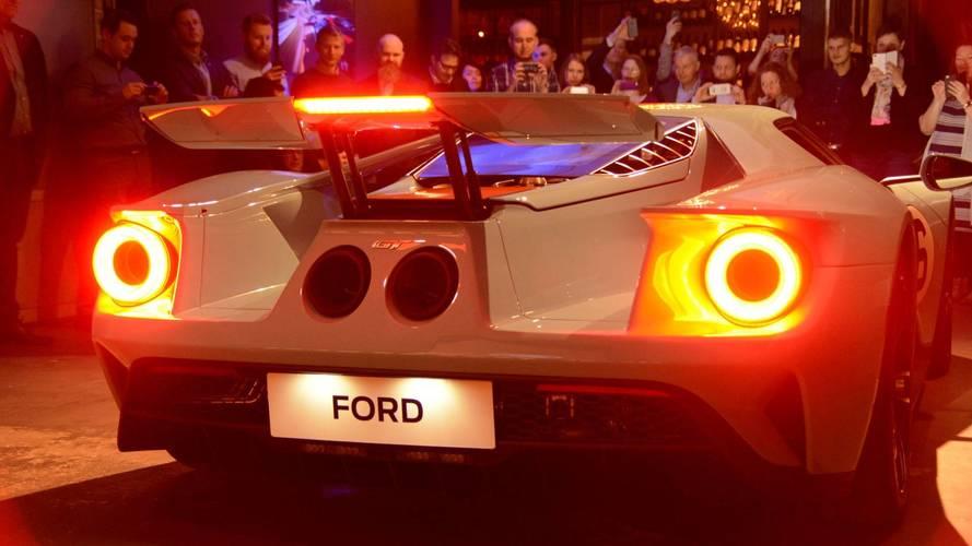 Ford GT : première livraison au Danemark