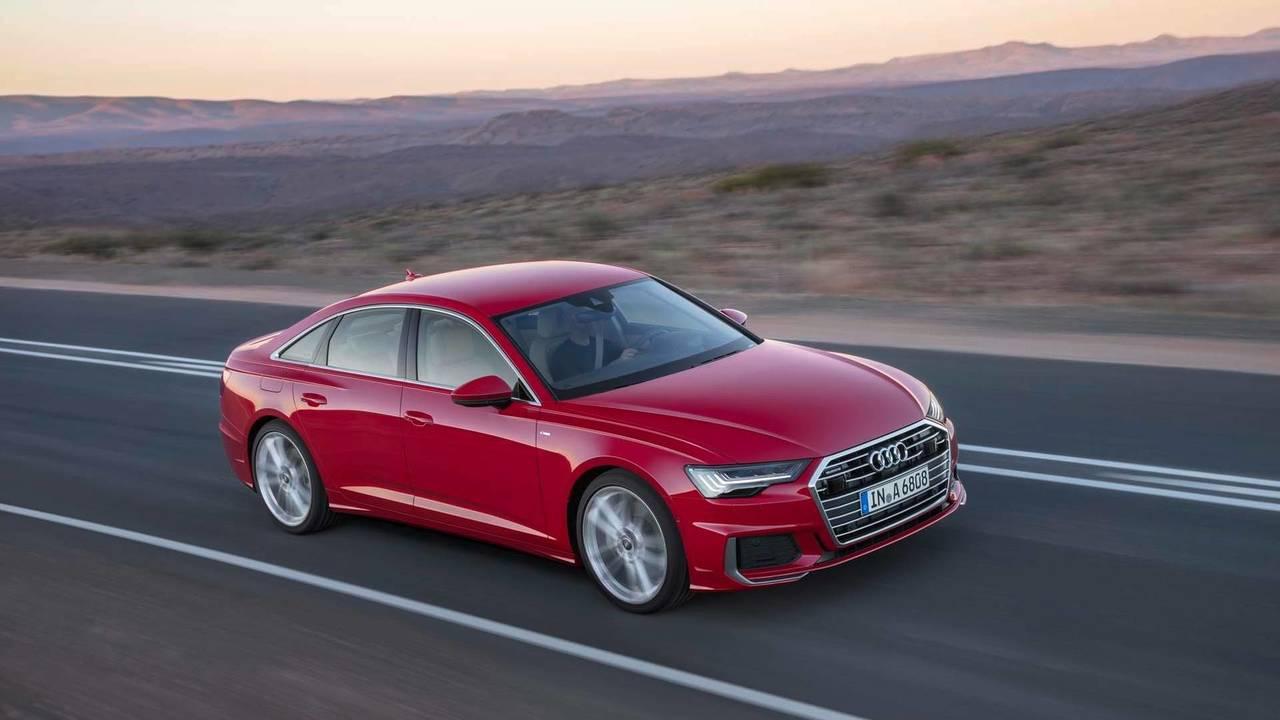 2018 Audi A6 saloon