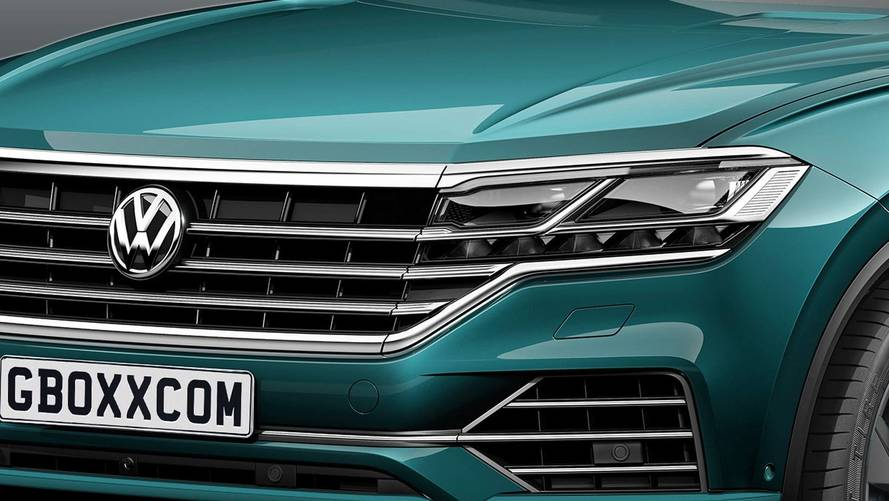 VW Touareg SUV Coupe Rendering