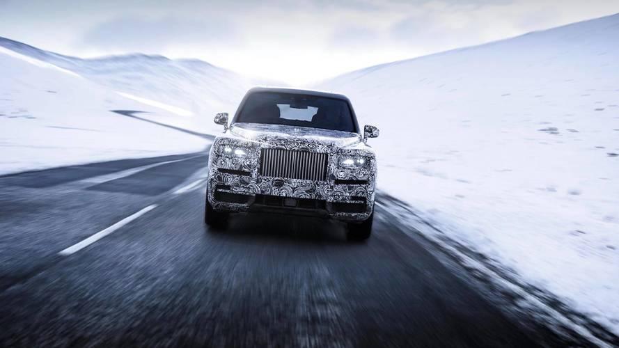 Rolls-Royce Cullinan testing