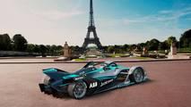 2018 Formula E racing car
