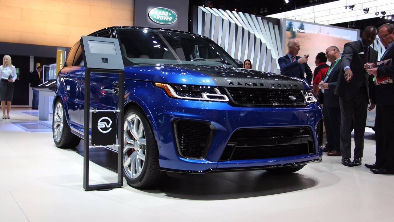 2019 range rover sport debuts plug in hybrid more. Black Bedroom Furniture Sets. Home Design Ideas