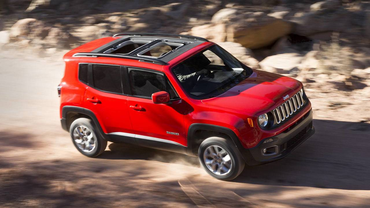 2. 2018 Jeep Renegade Sport manual, $21,040