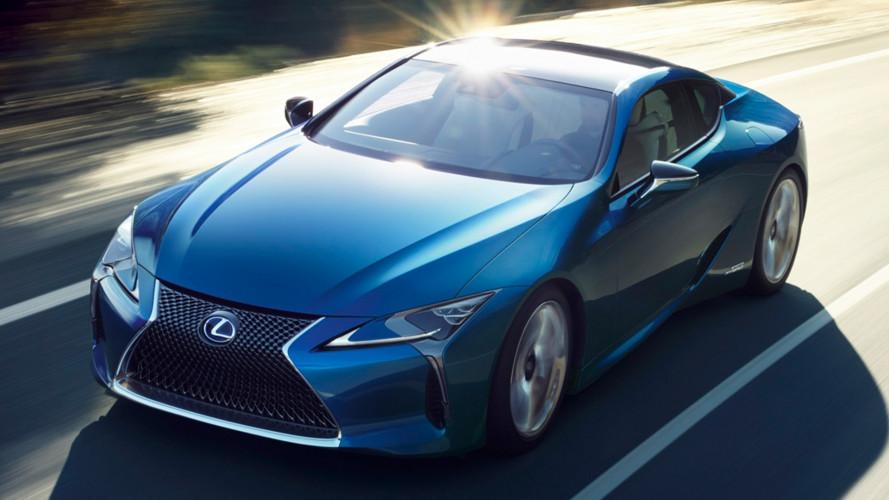 Lexus LC Structural Blue Edition, come le ali di una farfalla