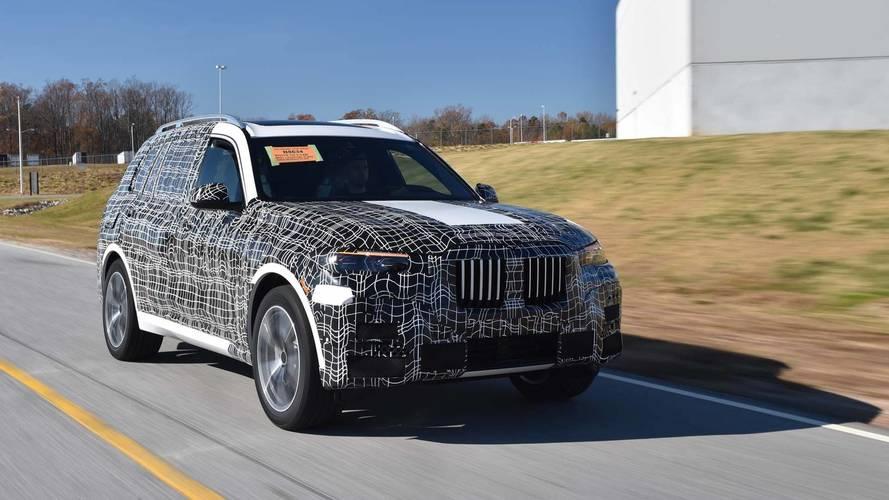 BMW X7'nin ön üretimi South Carolina'da başladı